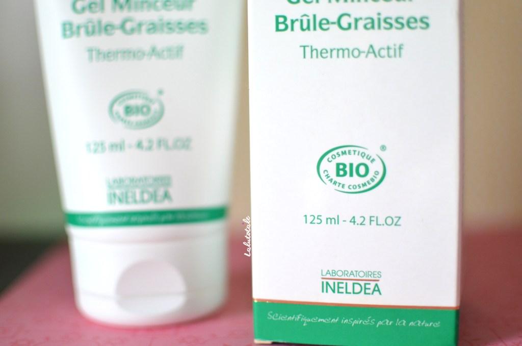 Effiderm gel minceur brûle-graisse bio thermo-actif