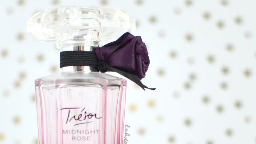 ( Midnight Rose par LANCÔME ) Le parfum Trésor de mes nuits.