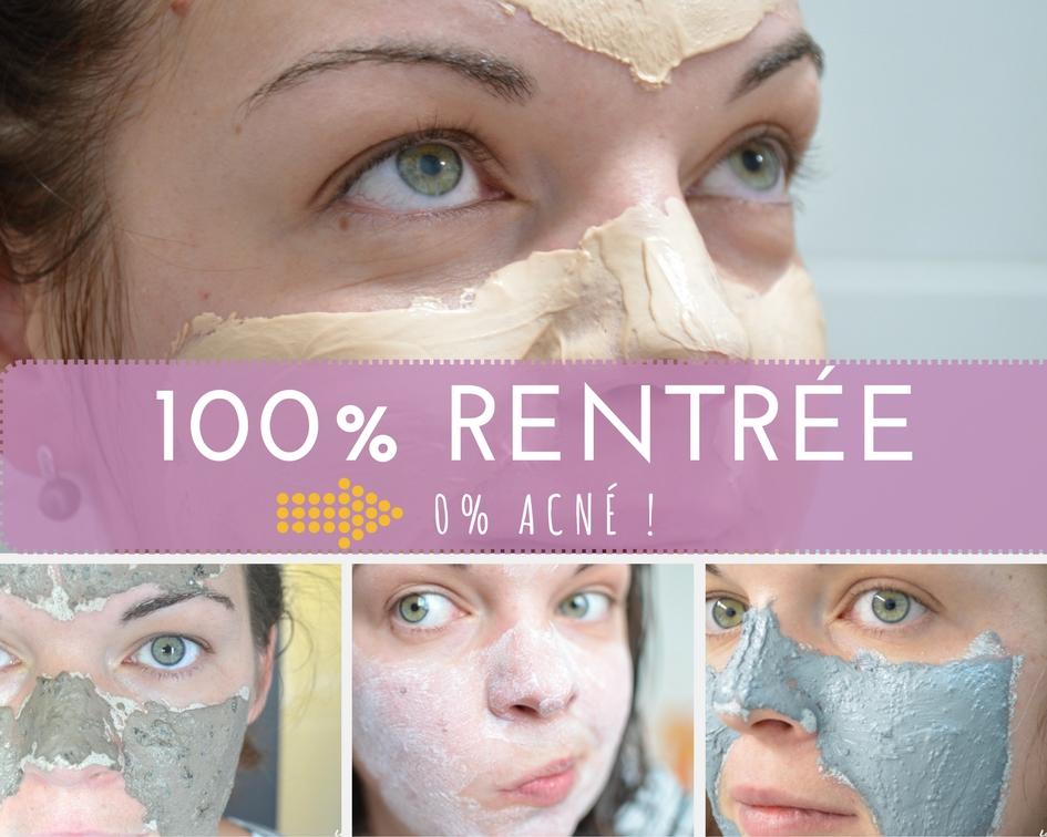 1001Pharmacies sélection wishlist produits beauté acné rentrée boutons imperfections