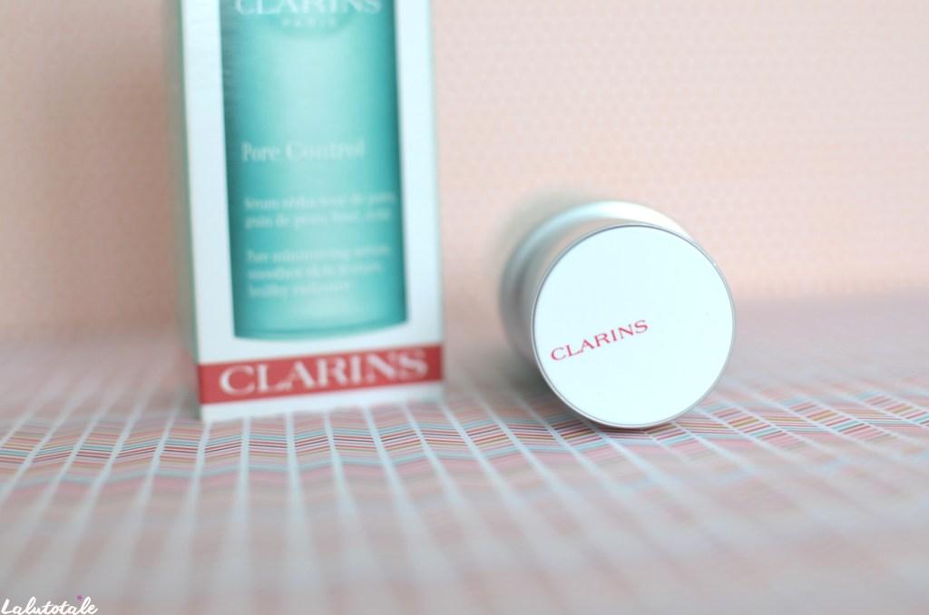 Clarins sérum Pore control réducteur pores visage