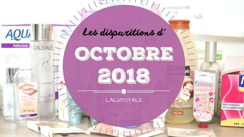 ✞ Les disparitions d' Octobre 2018 ✞