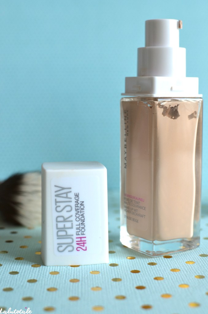fond teint Maybelline SuperStay 24h beauté couvrance