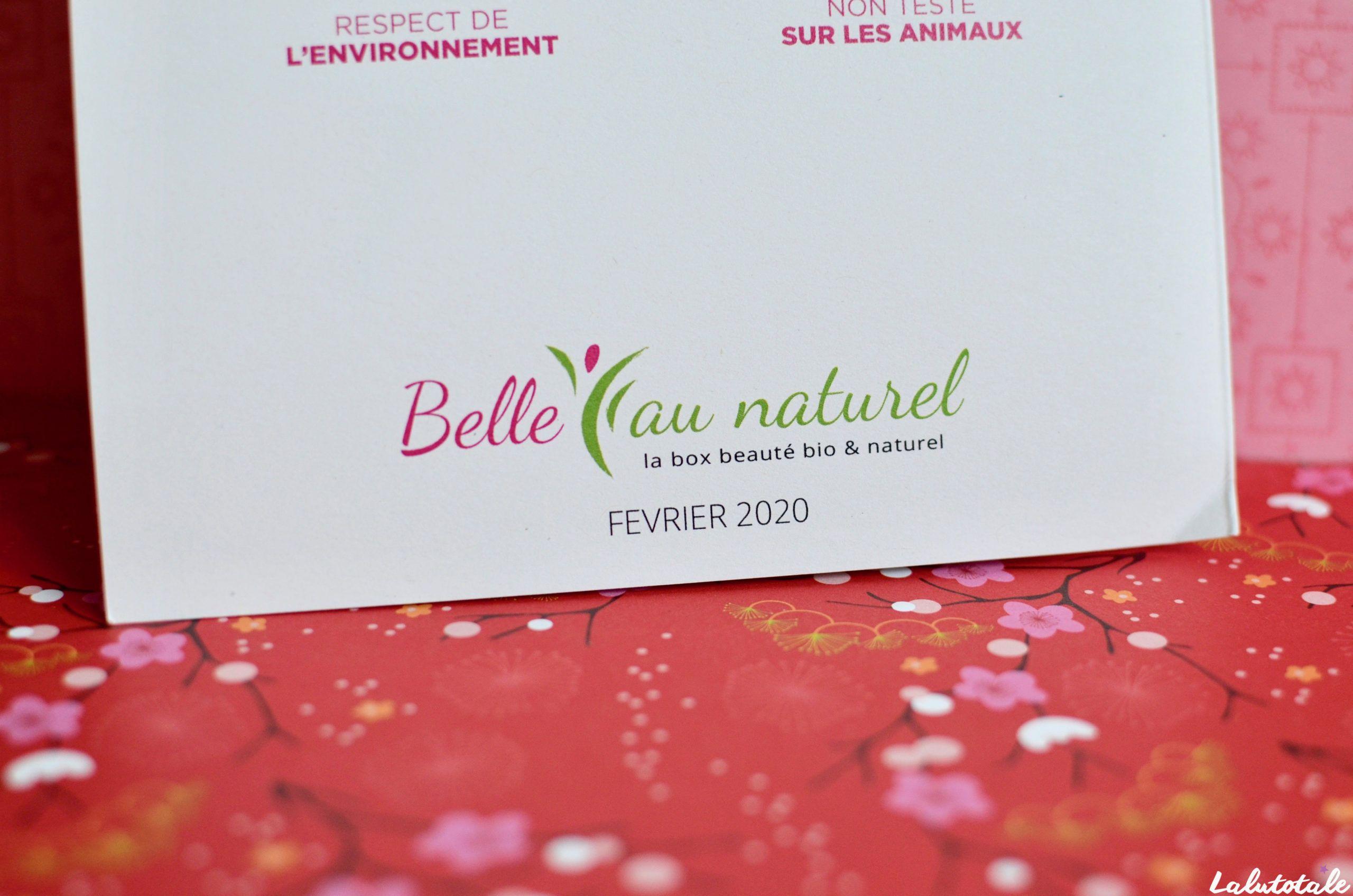 belle au naturel box tendre romance février 2020