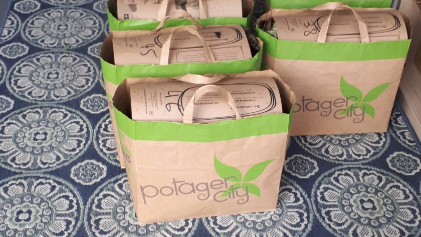 🍆🍑 POTAGER CITY 🥦🥕 Les fruits et légumes directement du producteur à l'assiette !