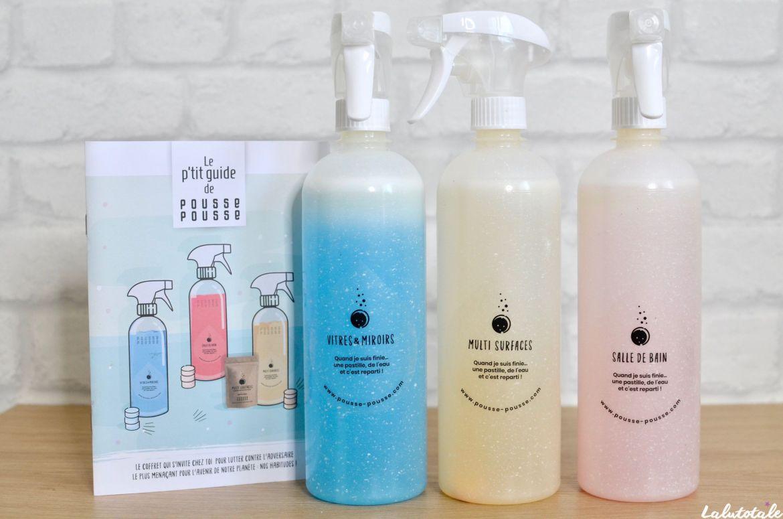pousse pousse produits ménage sprays coffret démarrage