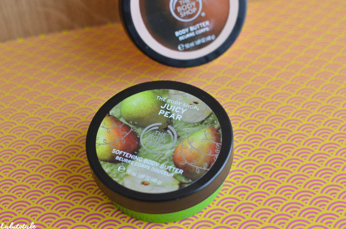 beurres corporels The Body Shop review