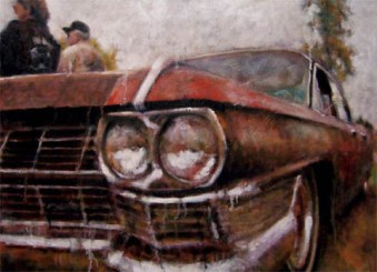 "Oil on canvas 18"" x 24"""