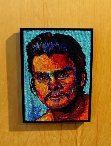 "6"" x 8.5"" Unframed 15"" x 18"" Framed Mixed Media Mosaic"