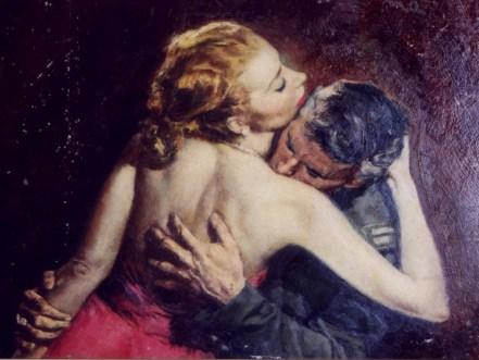 "by Herman Wouk (1956) Oil on board 19"" x 14"" (plus frame) $1,600.00 Sold"