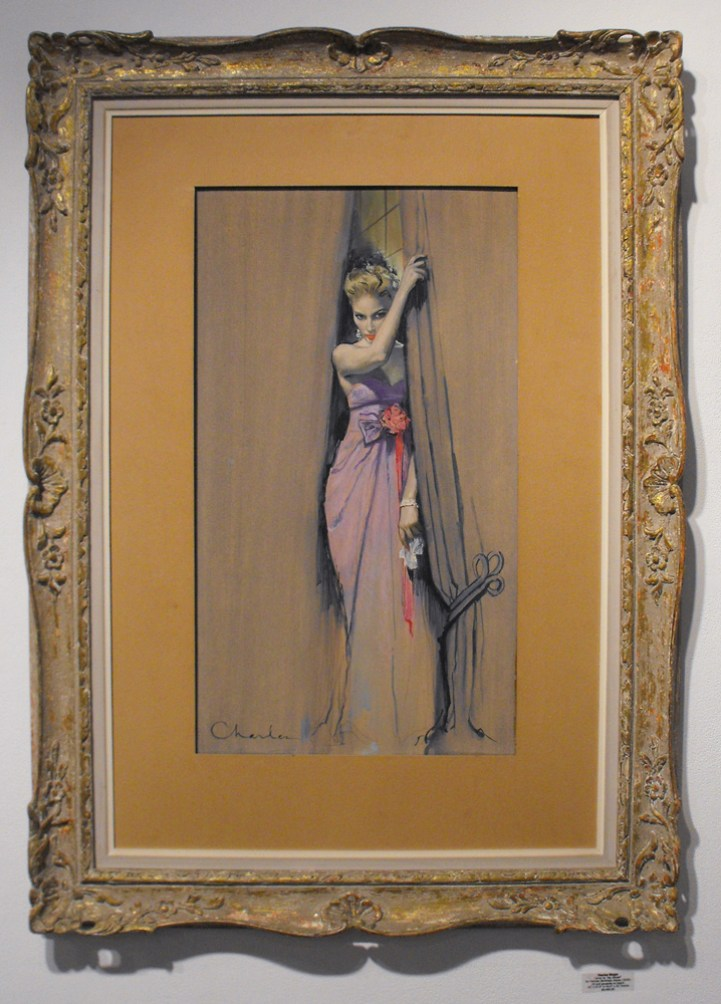 "by Frances Parkinson Keyes (1959) Oil and gouache on board 15"" x 27.5"" in 43.5"" x 31"" frame $5,400.00 Sold"