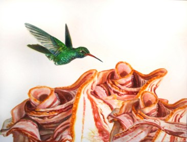 """Watercolor on paper 19"""" x 13"""" $750.00"""