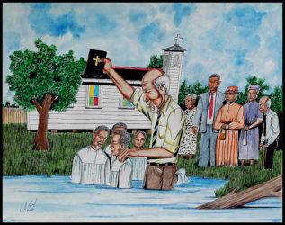 Roy Ferdinand - Baptism, c. 2000