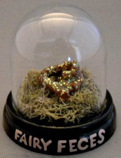 """Fairy Feces Mixed media sculpture 1.75"""" x 1.75"""" $150.00 Sold"""
