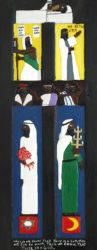 Herbert Singleton - Thire Is a God (Door) c. 1980s