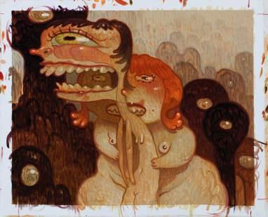 "Oil on canvas 21"" x 17"" $3,000.00"