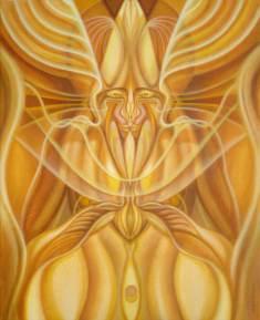"Acrylic on canvas 16"" x 20"" in 24"" x 28"" frame $1,750.00"