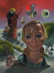 "Oil on canvas 9"" x 12"" $2,000.00"