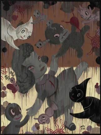 """Acrylic on canvas 18"""" x 24"""" $6,500.00"""