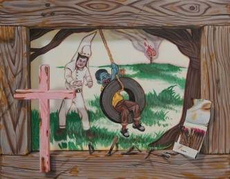 """Acrylic on panel 11"""" x 14"""" $2,500.00 Sold"""