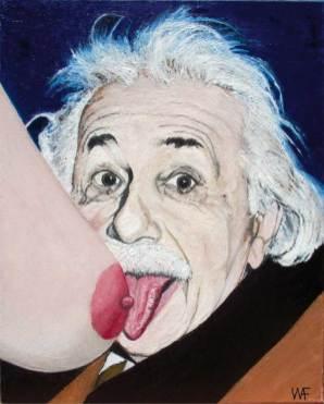 Warren Fitzgerald - E=Mmm,Oil on canvas, 16x20 in. $800 Sold