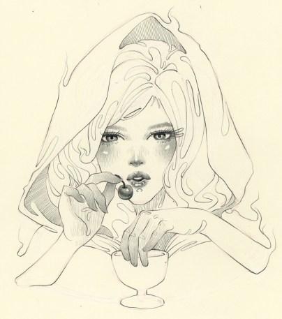 Danni Shinya Luo - White Riding Hood