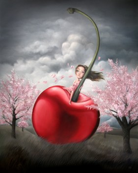 Deanna Rene Adona - Landscape with a Cherry on Top