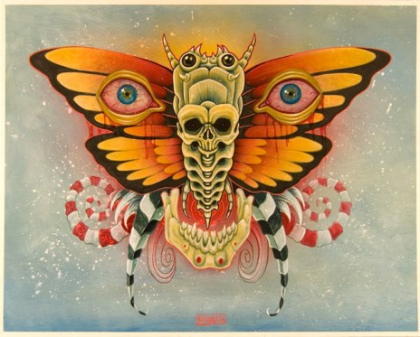 Mike Biggs - Eyes of Mothra