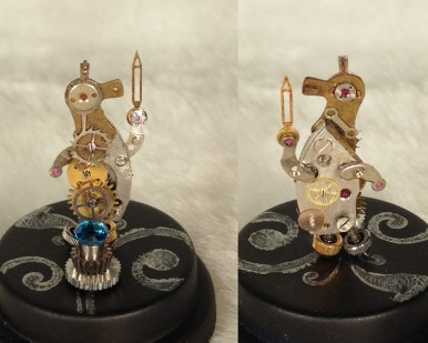 Ave Rose - Blue Topaz Watchbot Guardian