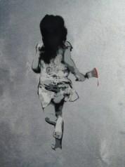 SAGE - Girl Running with Brush
