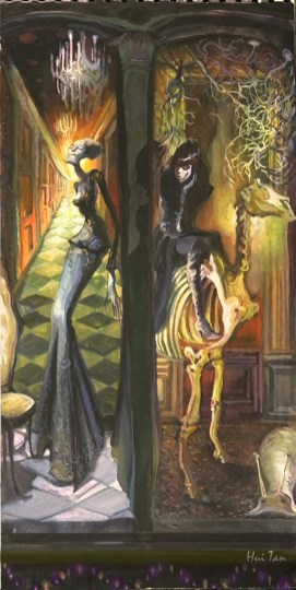 Hui Tan - The Show Window of Halloween