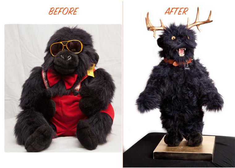 Robert Marbury - Sassafras (before and after)