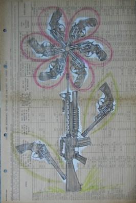 Jason D'Aquino - PTSD (gun flower)