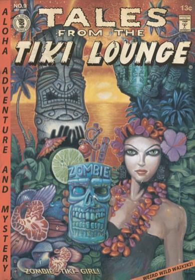 """Brad """"Tiki Shark"""" Parker - Tales From the Tiki Lounge No. 4 (Zombie Tiki Girl)"""