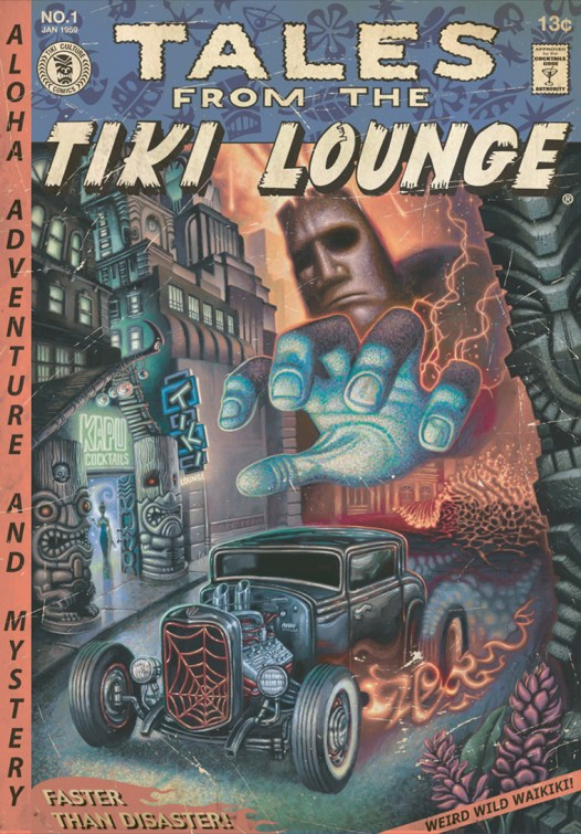 """Brad """"Tiki Shark"""" Parker - Tales From the Tiki Lounge No. 11 (Faster Than Disaster)"""