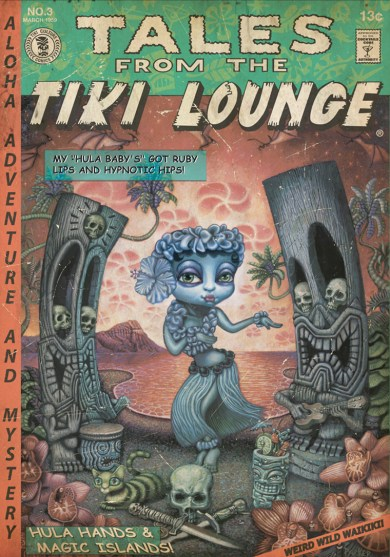 "Brad ""Tiki Shark"" Parker - Tales From the Tiki Lounge No. 3 (Hula Baby)"