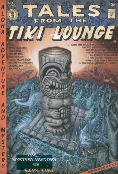 """Brad """"Tiki Shark"""" Parker - Tales From the Tiki Lounge No. 5 (Kon-Tiki Dream)"""