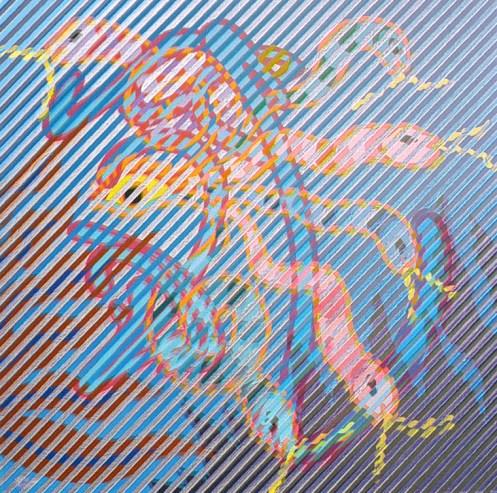 Neon Park - Bruce Lee Series 1968/88, Perpetual Motion / Snake Eyes