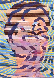 Neon Park - Bruce Lee Series 1968/88, #4 Frida / Kitchen Snakes