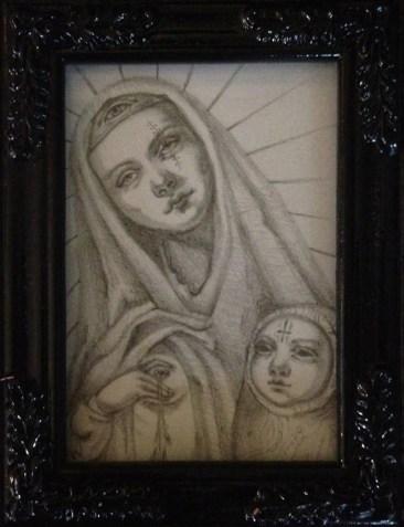 Jasmine Worth - Dark Mother Study