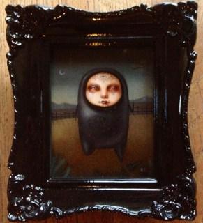 Jasmine Worth - Tiny Grey Ghost Eyes
