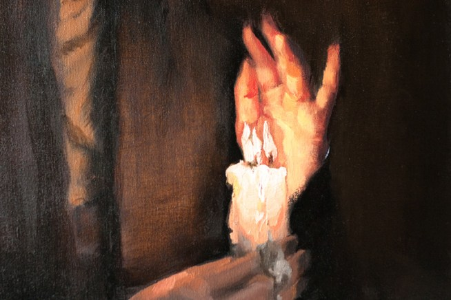 Shaun Berke - The Three Tongues of Dusk (detail)