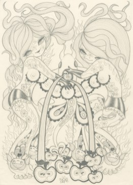 Junko Mizuno - Euphoria: Ray (drawing)