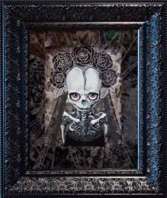8 x 10 in. / 16 x 19 in. mosaic framed, Acrylic on wood panel $450.00 Sold