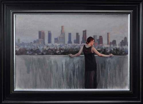 30 x 20 in. / 33 x 23 in. framed, Oil on linen $8,500.00 Sold