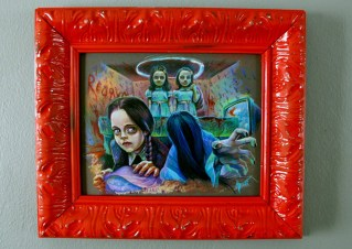 8 x 10 in. / 10 x 12 in. framed, Prismacolor pencils on toned archival board $600.00