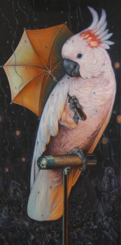 """Oil on canvas 18 """" x 36"""" frame $3,800.00"""