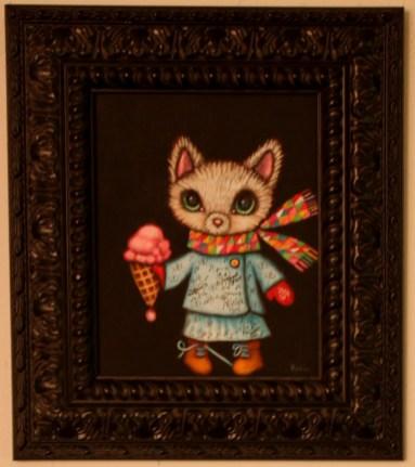 8 x 10 in. (20.5 x 25.5 cm) / 13.5 x 15.5 in. framed (35 x 39.5 cm framed) Acrylic on canvas board $425 Sold