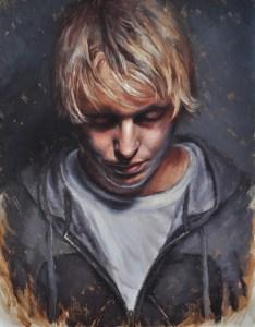 Derek Harrison, Self- Portrait at 28