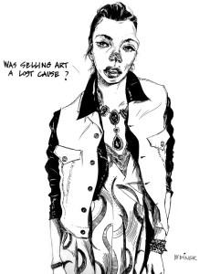Mel Weiner, Gallery Girl