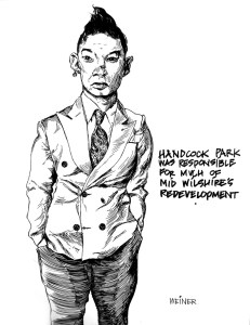 Mel Weiner, Handcock Park